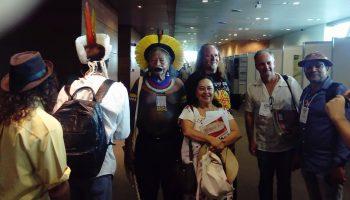 Reunidos en el Congreso de Brasil